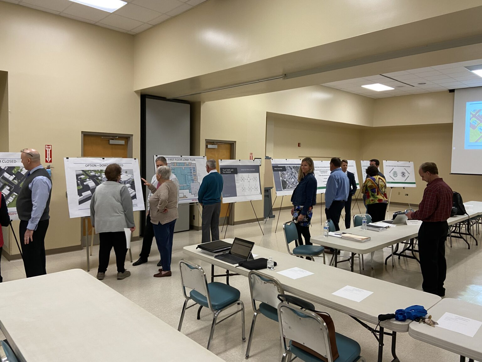 Public involvement meeting for Moore County traffic engineering work
