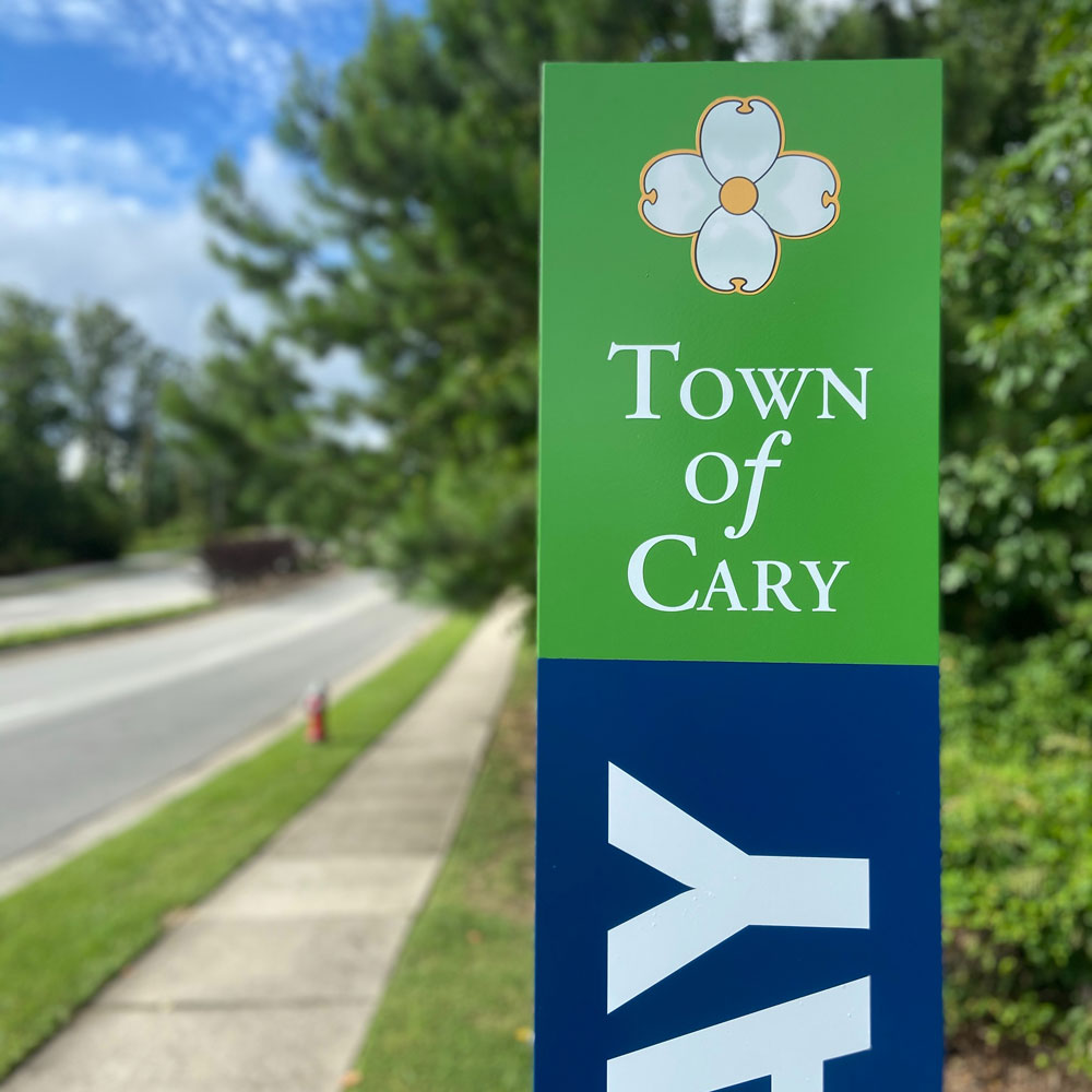 Town-of-Cary-Greenway-sign
